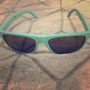 Burberry foldable sunglasses.